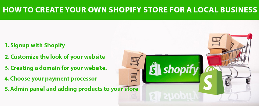 How to Create Your Own Shopify Store for a Local Business