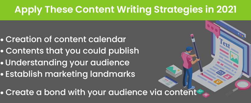 Apply These Content Writing Strategies in 2021