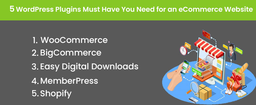 5 WordPress Plugins Must Have You Need for an eCommerce Website