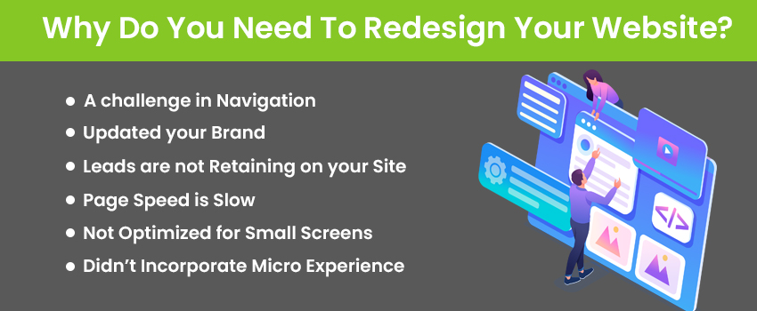 Why Do You Need To Redesign Your Website?
